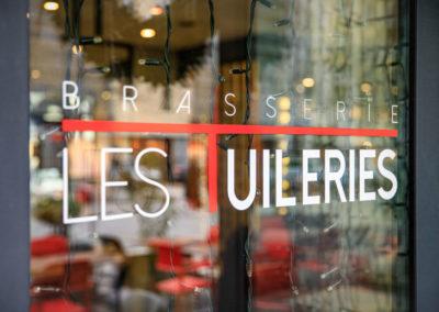 Vitrine - Brasserie Les Tuileries