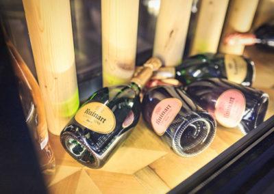 Champagne Ruinart - Brasserie les Tuileries