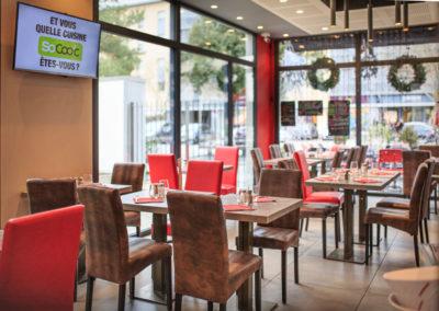 Salle de restaurant - Brasserie les Tuileries