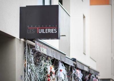 Enseigne - Brasserie Les Tuileries